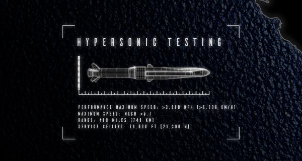 Peraton Awarded $33M U.S. Navy Hypersonics Engineering Contract