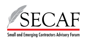 Small Emerging Contractors Advisory Forum (SECAF)