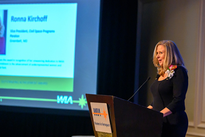 Ronna Kirchoff Honored by WIARonna Kirchoff Recognized For Outstanding Achievement By WIA