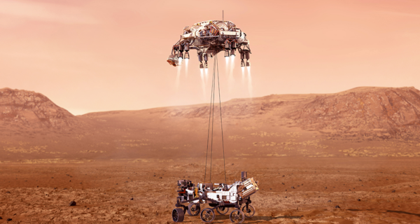 Peraton Supports Successful Landing of NASA's Perseverance Rover