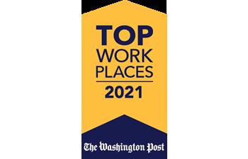 Washington Post: Top Workplaces 2021