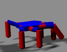Hexapod robot repair challenge